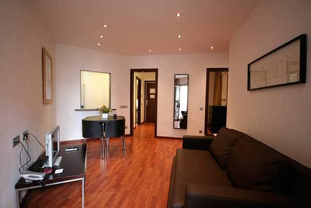 Appartement madanis salle de séjour