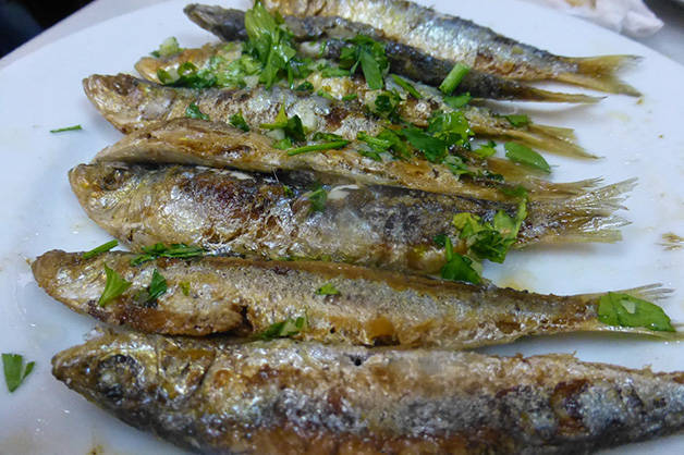 barceloneta assiette poissons