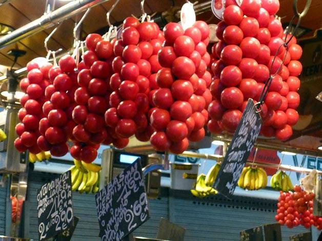 boqueria.tomates week-end de pâques
