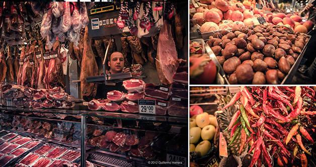 marché boqueria pour un week-end spécial gaudí