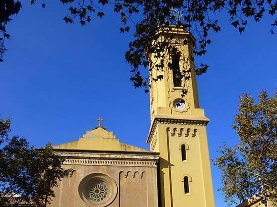 Sarrià église les Corts quartier