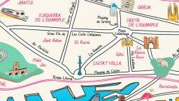 plan barcelone quartier