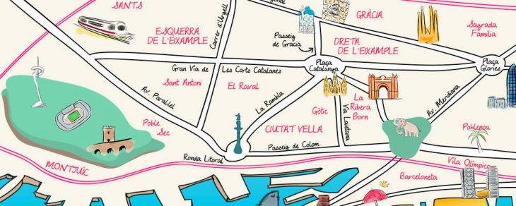plan barcelone quartier
