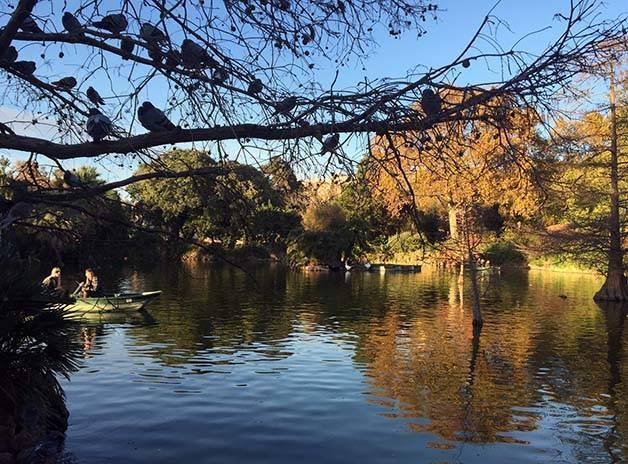 parc de la ciutadella lac