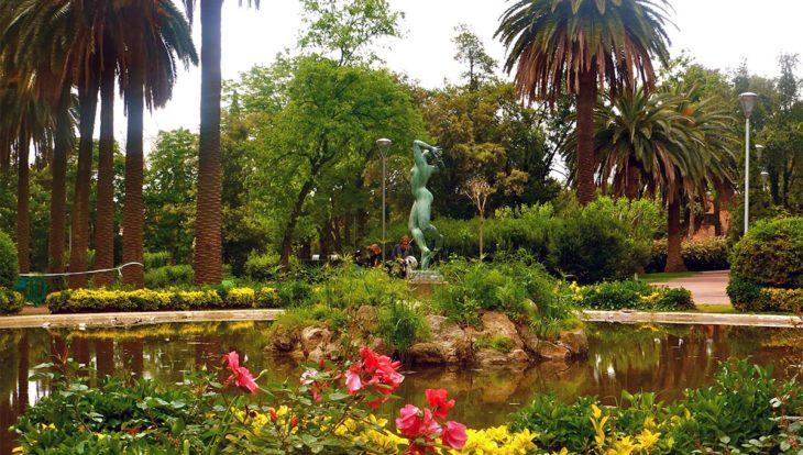 pique-niqueà barcelone dans les parcs
