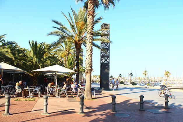 barceloneta port.olympique