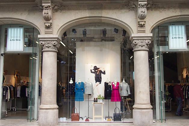 shopping Barcelone vitrine