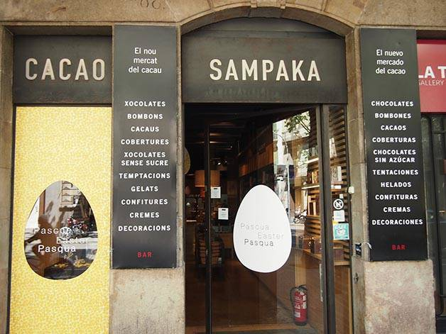 cacao sampaka chocolatiers de barcelone