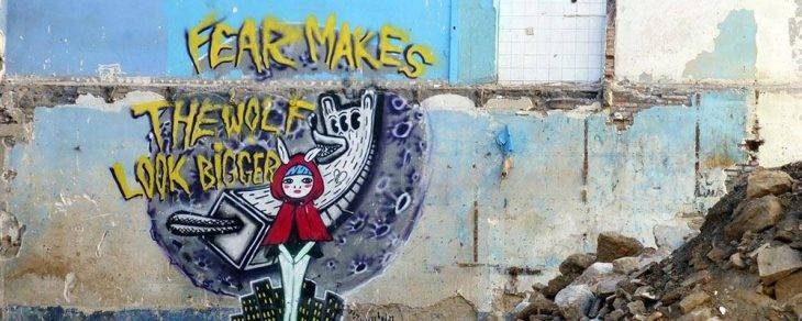 street art chaperon rouge