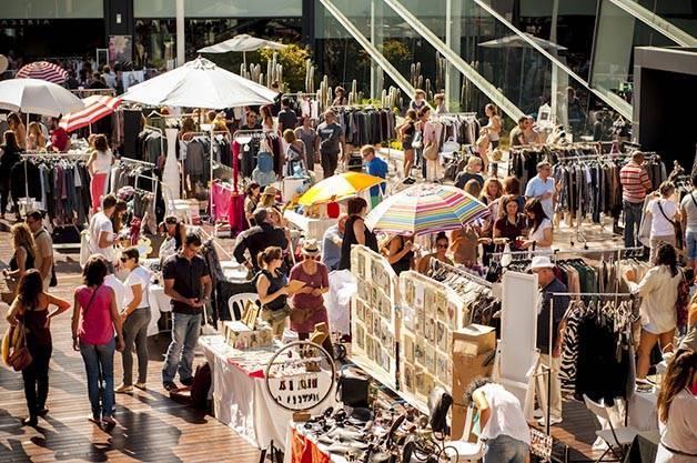 marchés vintage Barcelone