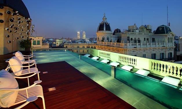 semaine des terrasses à Barcelone: hôtel Ohla
