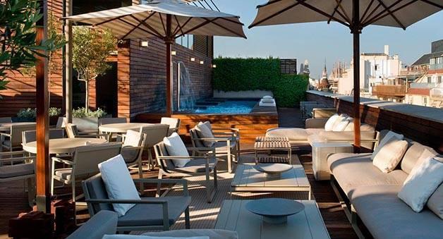 semaine des terrasses à Barcelone: hôtel Omm