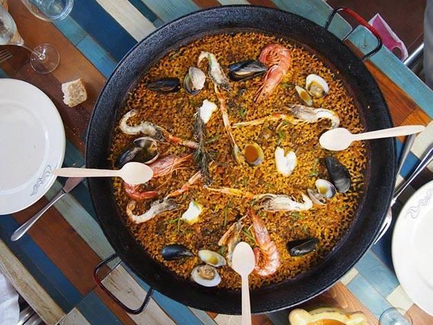 paella week end gastronomique