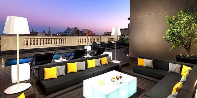 semaine des terrasses à Barcelone vue