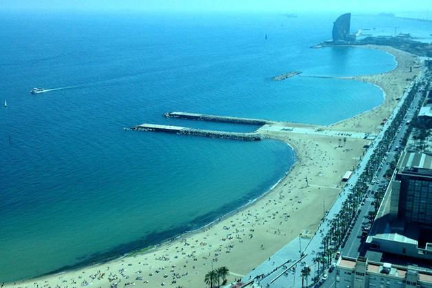plages Barcelone avec enfants