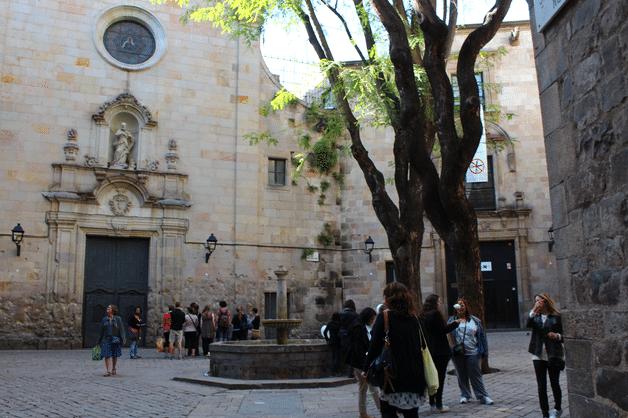 barri gotic plaça Sant Felip Neri que faire à Barcelone