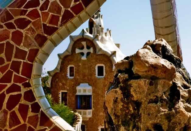 Visiter Barcelone: la maison du park Güell