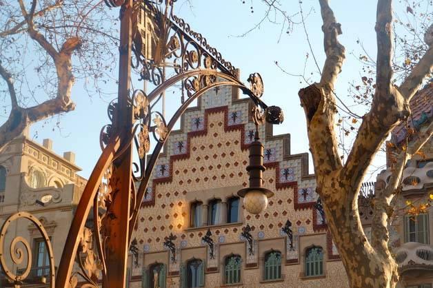 que faire à Barcelone: découvrir la casa amatller