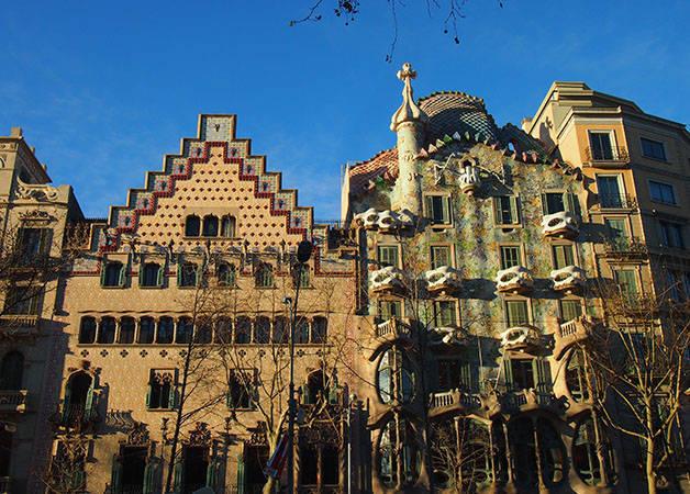 casa batllo et casa Amatller Art nouveau et histoire Barcelone