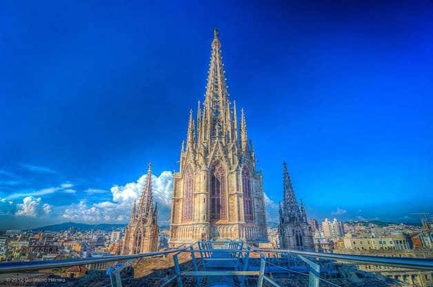cathédral extérieur week-end histoire Barcelone