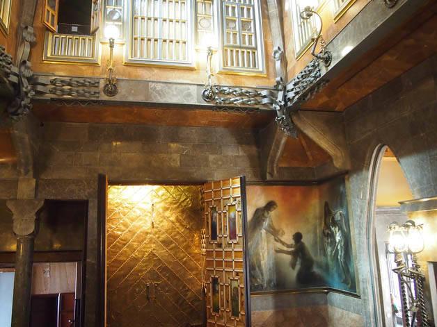 chapelle palau guell