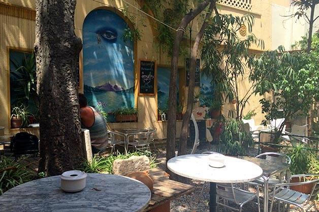 mercadillo tables terrasses secretes