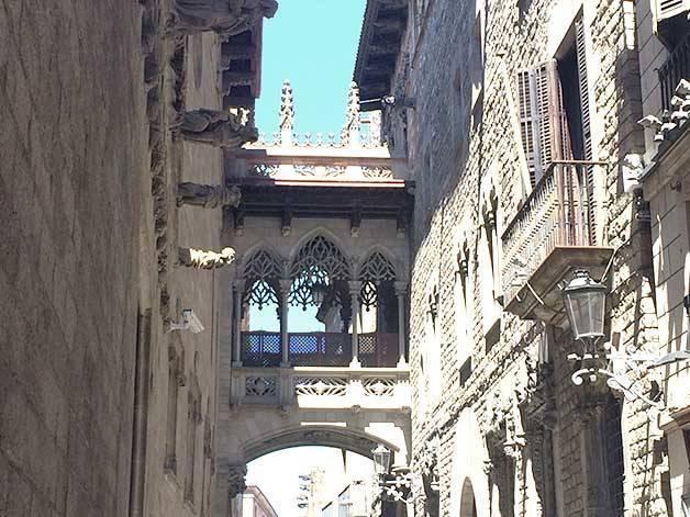quartier gothique histoire