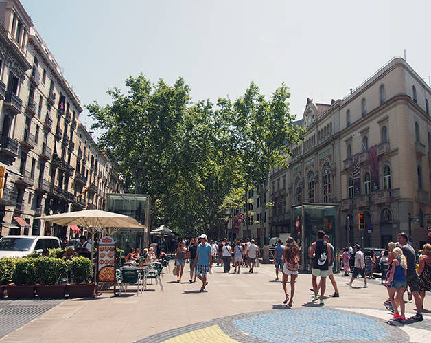 les ramblas: visiter Barcelone