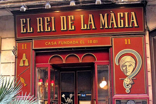 rei de la màgia week-end histoire à Barcelone
