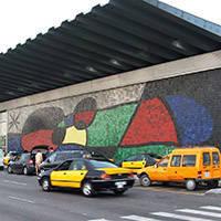 fresque de Miró art public