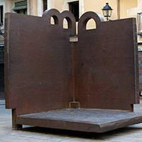 Art public:Topos V sur la plaça de la Catedral Barcelone