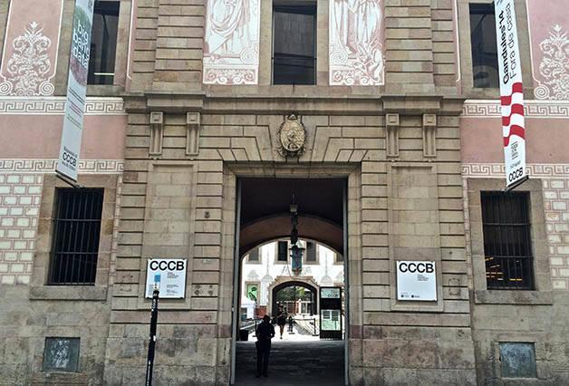 CCCB façade