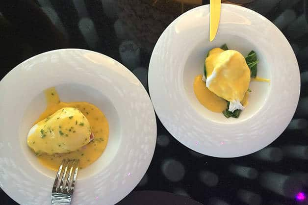 brunch du barcelo raval œufs benedict