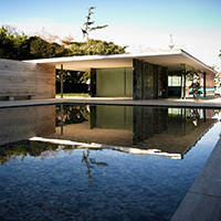 pavillon allemand de Barcelone architecture
