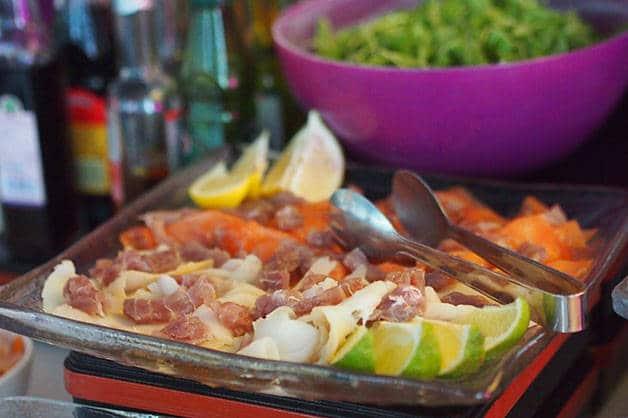 brunch du barcelo raval salades