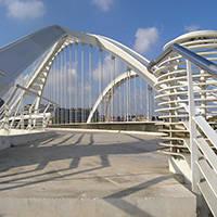 pont du bac de roda Barcelone architecture