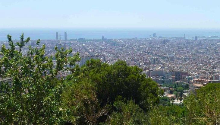 visiter Barcelone randonnée panoramique