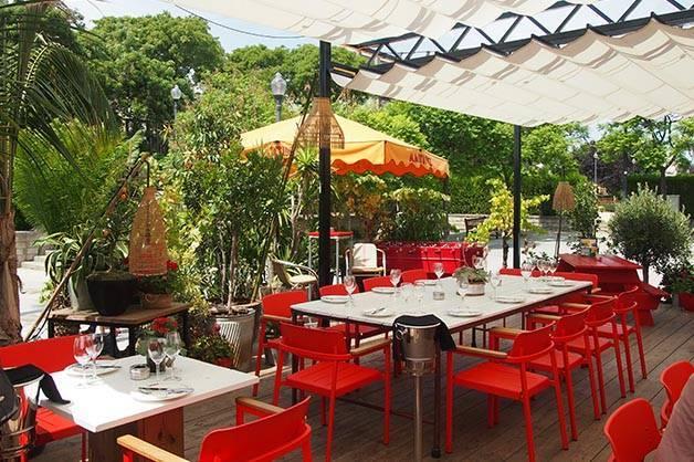 restaurant martinez terrasse