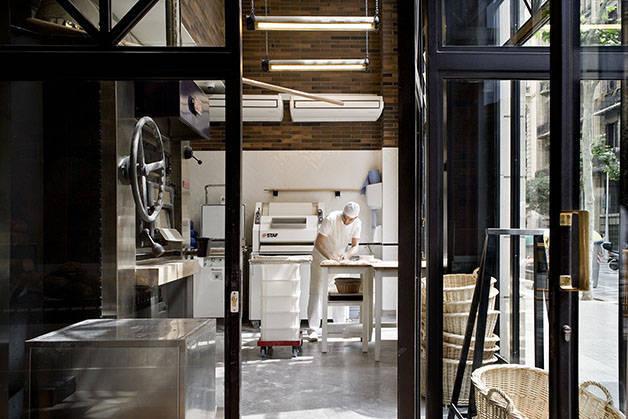 boulangerie baluard de l'Eixample dans l'hôtel Praktik Bakery