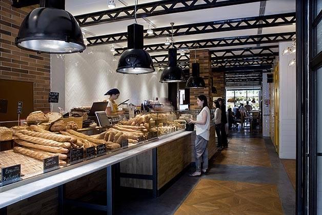 hôtel Praktik Bakery et boulangerie Baluard