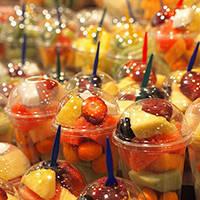 marché de la boqueria fruits à emporter Ramblas