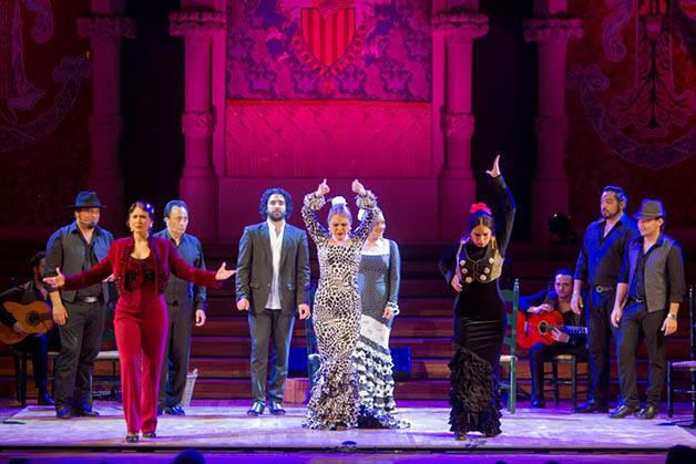flamenco au palau de la musica