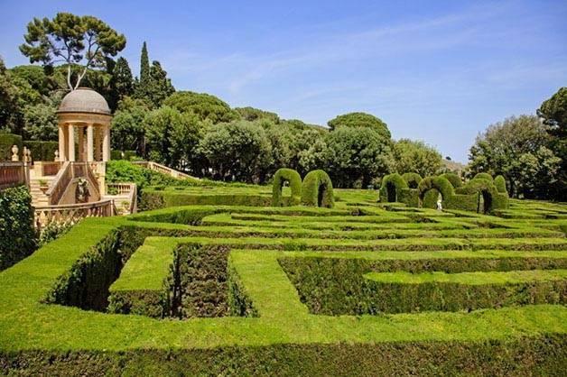 Jardin du labyrinthe Horta activités gratuites