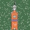 dessin de la tour de caixa Forum