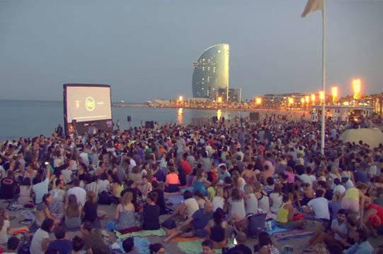 cinema lliure cinéma sur la plage activités gratuites