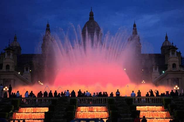fontaine magique de Montjuïc