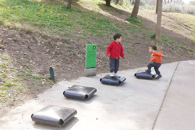 Parc Joan Brossa: week-end avec enfants et famille