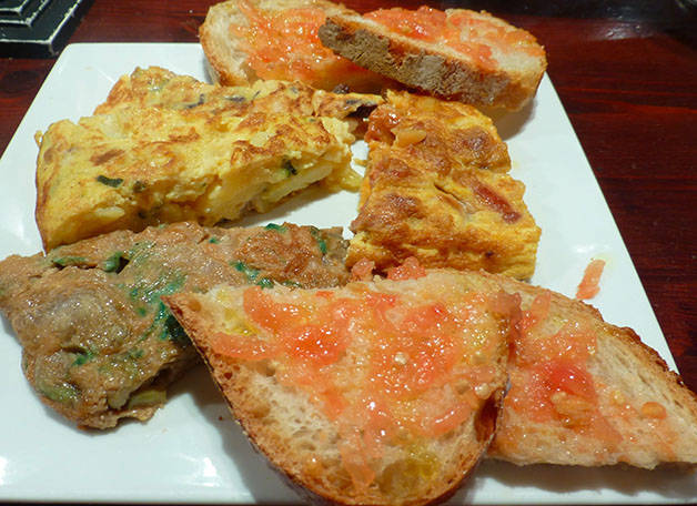 omelettes leku petit-déjeuner