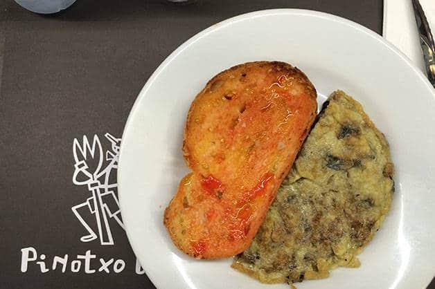 petit-déjeuner pinotxo