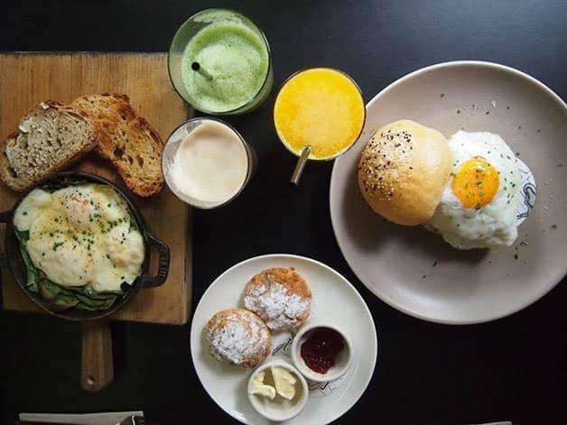 petit déjeuner fédéral café